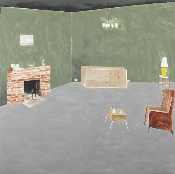 Green room, Dunedin by Noel McKenna