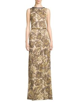 MANGO - CLOTHING - Dresses - Maxis - Paisley long dress