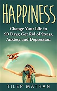 Change Your Life In 90 Days; Get Rid Of Stress, Anxiety And Depression - Tilep Mathan. People have different views of what happiness is, and everybody is struggling to accomplish their goals and live out their dreams to the fullest. We're all quite familiar with this idea, but... how many people actually know how to take their wishes from dreams to reality? Well, this booklet offers just that! http://pages-intheattic.blogspot.com.co/2017/01/change-your-life-in-90-days-get-rid-of.html#more