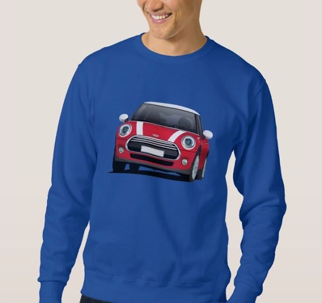 Mini Cooper hot hatch t-shirt.  #minicooper #mini #cooper #british #automobile #carillustration #illustration #tshirt #shirt #carshirts #minihatch #hothatch #zazzle #classiccars