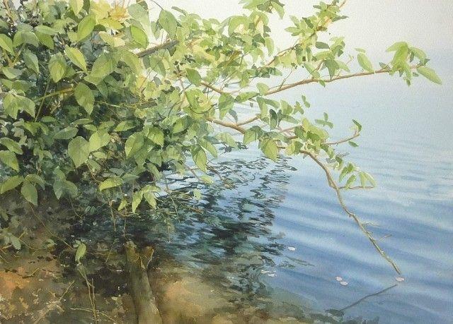 Abe Toshiyuki Watercolor Web Gallery