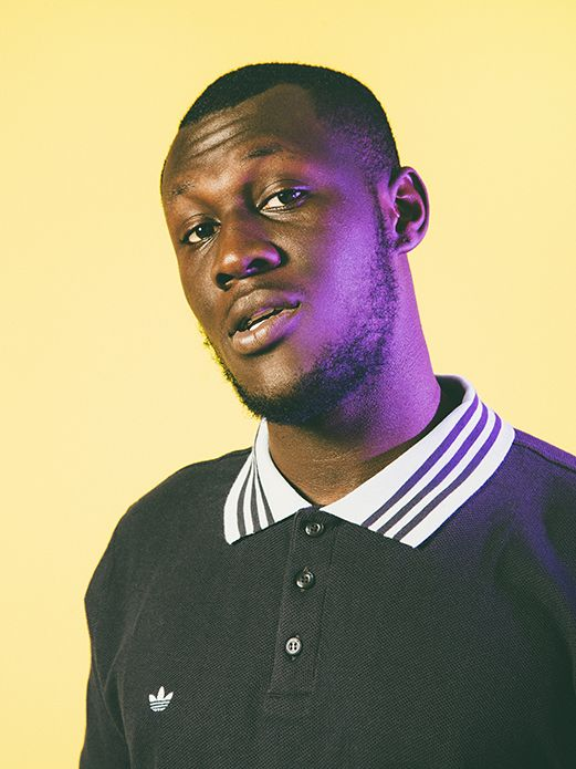 """I think the humour comes naturally,"" drawls Stormzy. ""A lot of grime lyrics are just funny."""