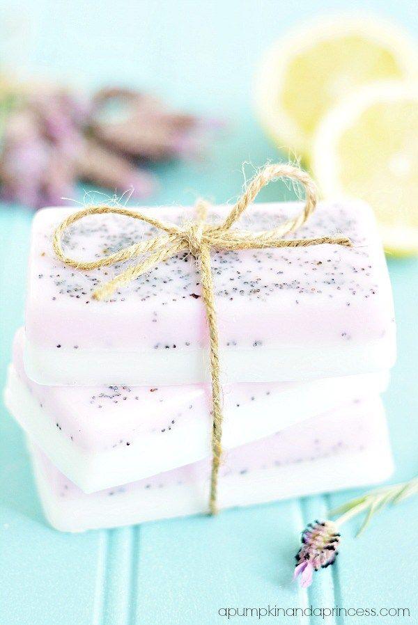 Lavender lemon soap diy