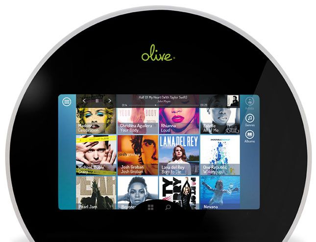 Olive Music Player