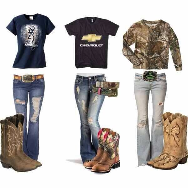 Country lovin' don't really like the boots but LOVE the Chevy shirt!!