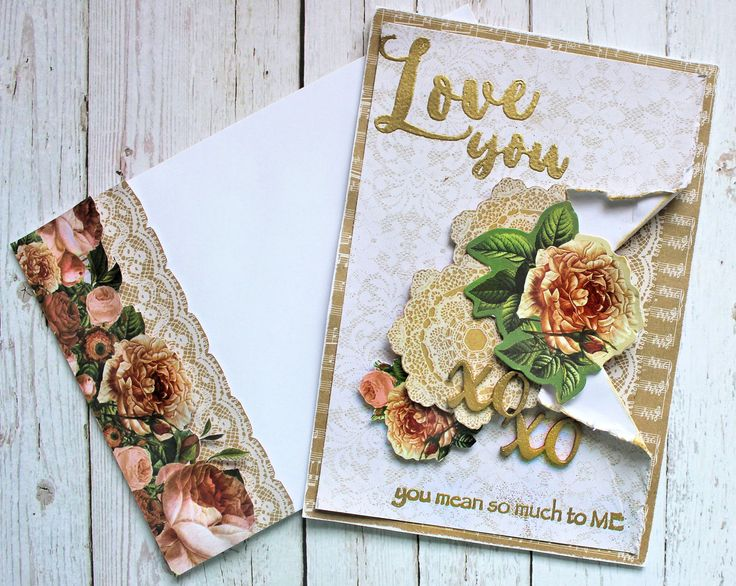 Kaisercraft - Always & Forever - Mother's Day Card