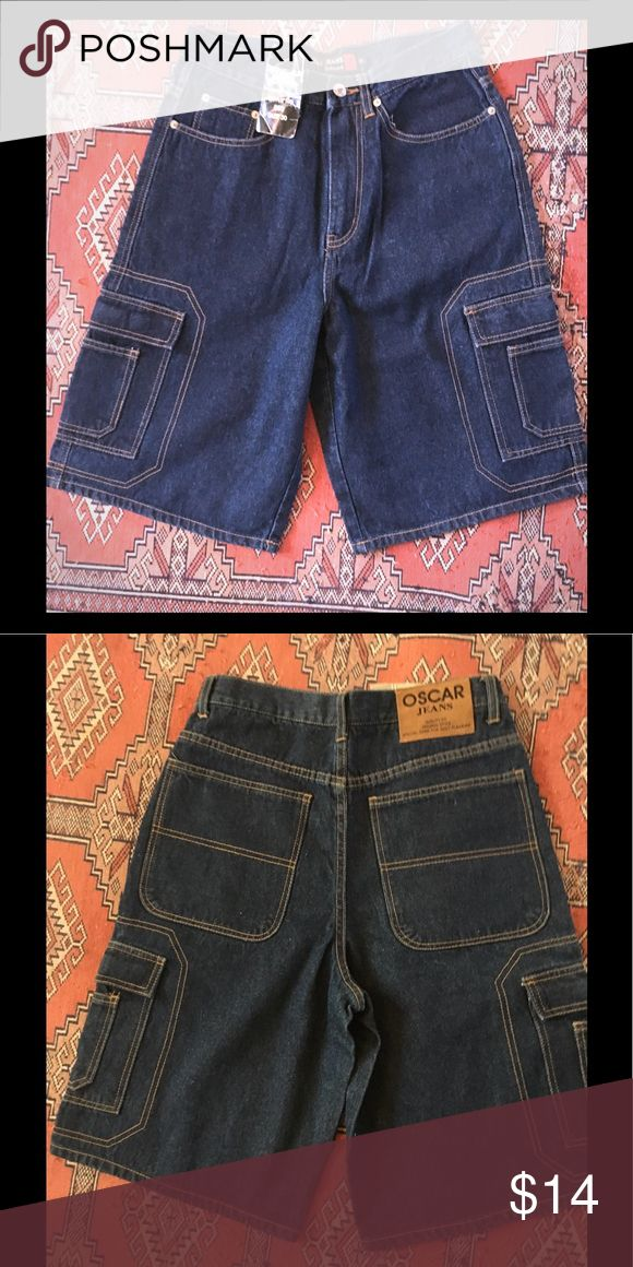 NEW with tag cool men's shorts Brand new with tag men's jean shorts Oscar brand size 30 oscar Shorts Jean Shorts