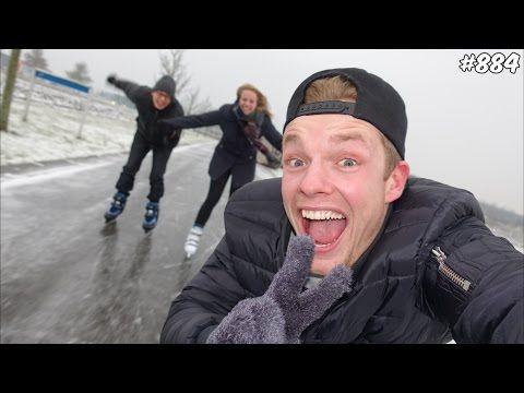 SCHAATSEN OP DE WEG! - ENZOKNOL VLOG #884 - YouTube