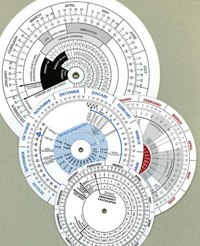 Due Date Wheel