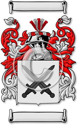 Beautiful Family Crests And Coats Of Arms By House Of Names