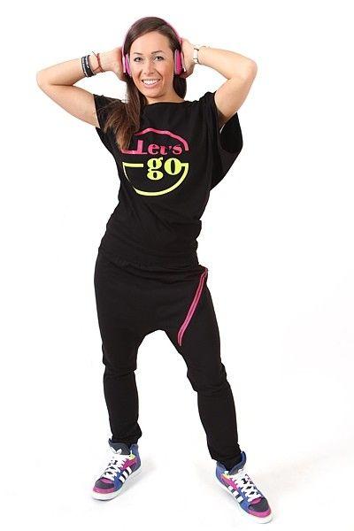 Zipper Black Magenta- Dame supersmartetræningsbukser med lynlås. WWW.2SKIN.DK