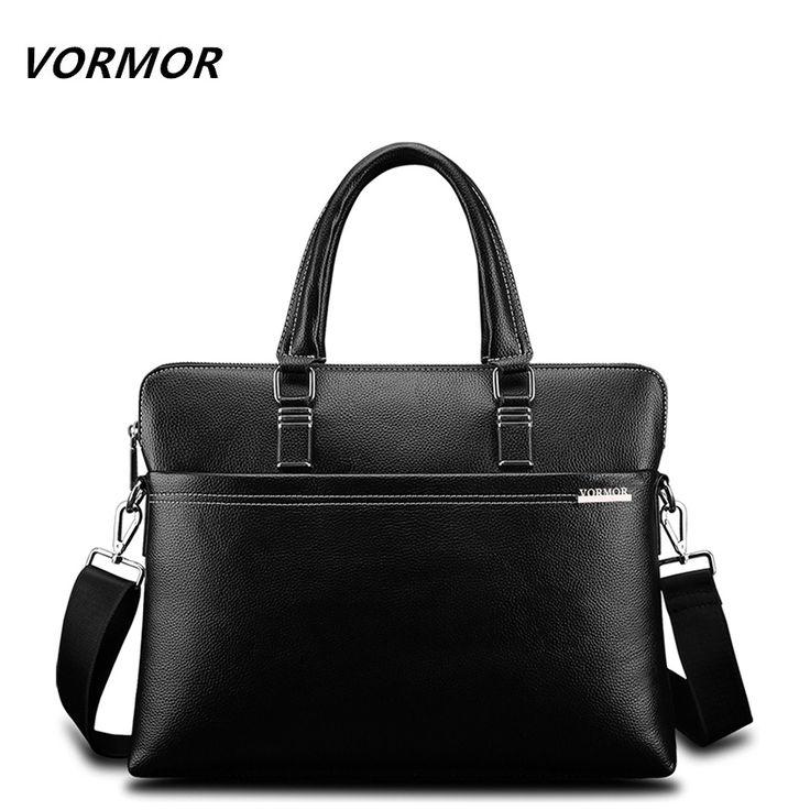 ==> [Free Shipping] Buy Best VORMOR Men Fashion Shoulder Bags Male Casual Briefcase Leather Messenger Bag Computer Laptop Handbag Quality Men's Travel Bags Online with LOWEST Price | 32790013230