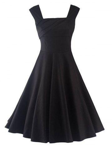 GET $50 NOW | Join RoseGal: Get YOUR $50 NOW!http://m.rosegal.com/vintage-dresses/vintage-open-back-solid-color-649683.html?seid=963503rg649683