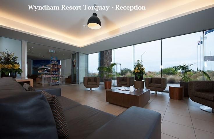 Welcome to Wyndham Resort Torquay - Reception.