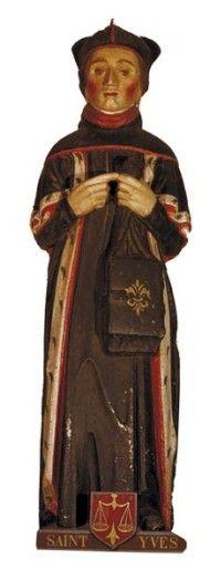 Statue de saint Yves, Pouldergat (29)