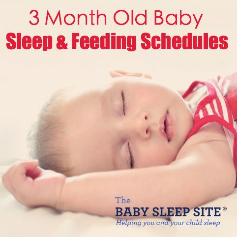 This article outlines 3 month old sleep and feeding tips, as well as sample baby sleep schedules for your 3 month old baby.