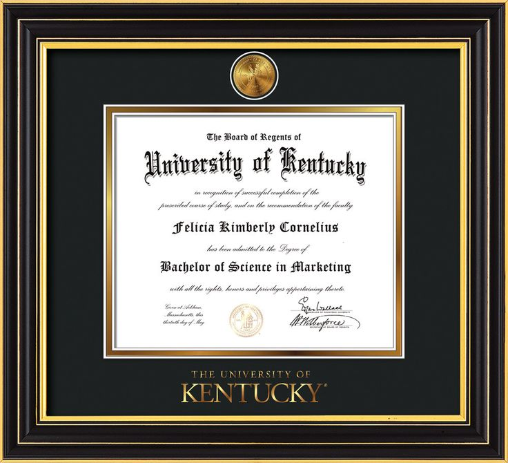 138 best University of Kentucky - UKy - Diploma Frames & Graduation ...