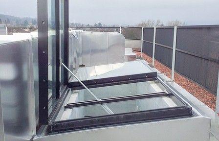 Oberlicht aus Glas — Euroda Brandrauch- und Fassadensysteme GmbH