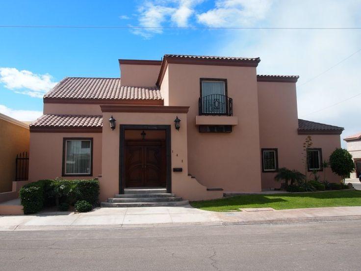 Fachada mexicana casas todos los estilos pinterest for Fachada de casas modernas con tejas