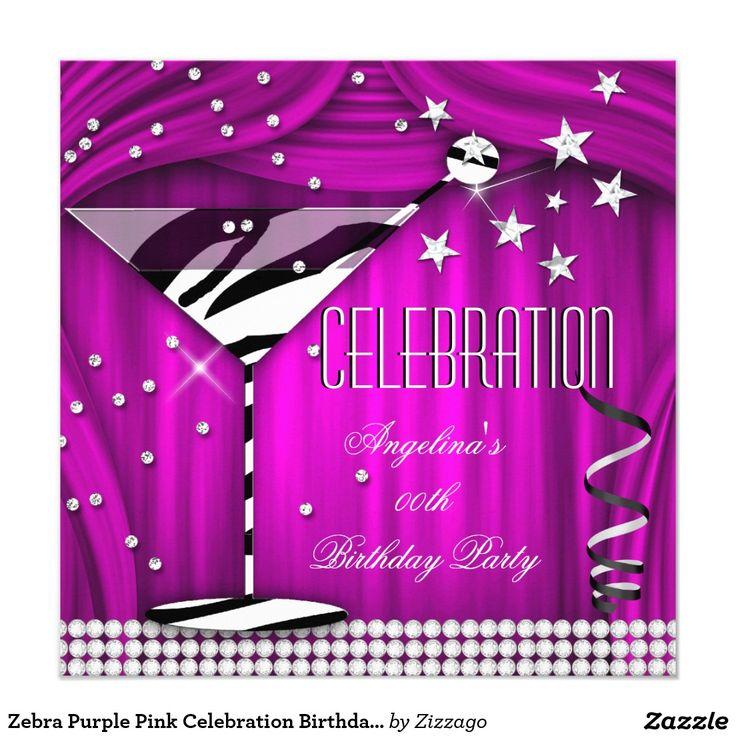 8242 best images about Zizzago Invitations – Purple Party Invitations