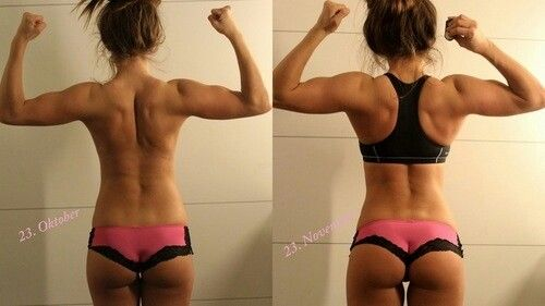 The effect of squats--MOTIVATION TO KEEP GOING!
