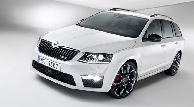 The SKODA Octavia RS Wagon.