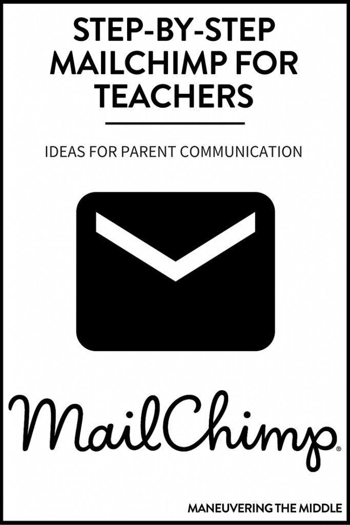 How to use MailChimp for teachers in 5 quick steps, as well as a ideas for incorporating a newsletter to increase parent communication in your classroom.