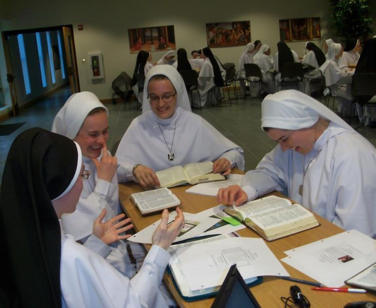 """nunnabe: """" themysteryoffaith: """" """" Reason #1 Why Catholic Nuns Rock """" They have Bible Studies. """" Reason #2 Why Catholic Nuns Rock """" They kick almighty butt on American Bible Challenge """" Reblogging for commentary. """""""
