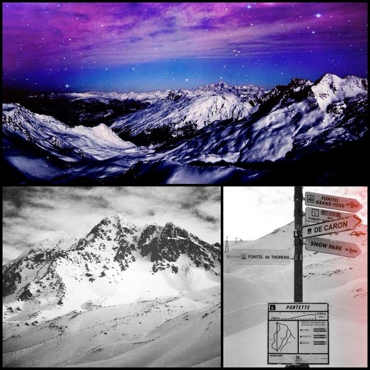 Mountains of Val Thorens