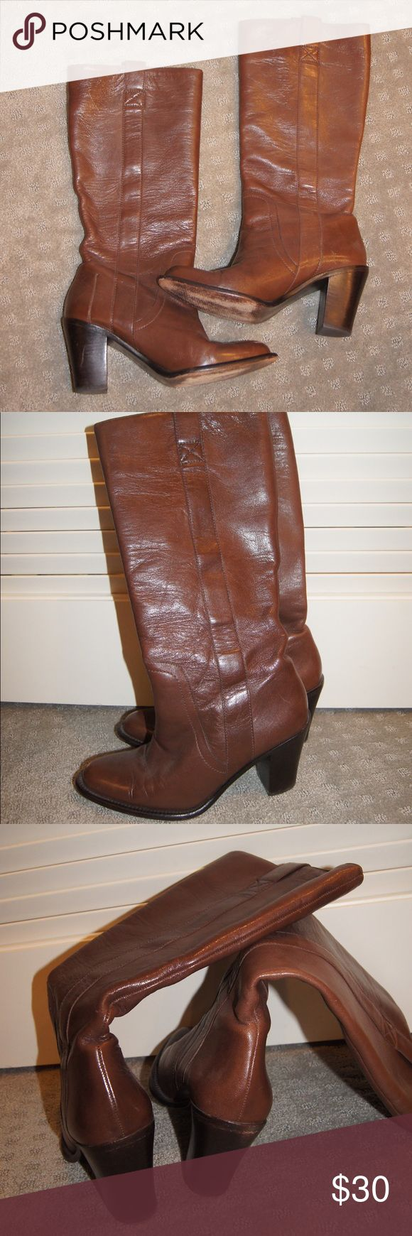 Banana Republic Boots Tall brown boots! They look great with so much Banana Republic Shoes Heeled Boots