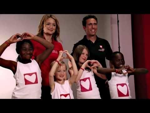 ▶ Virginie Efira marraine d'initiatives-coeur pour Mécénat Chirurgie Cardiaque - Vendée Globe 2012 - YouTube