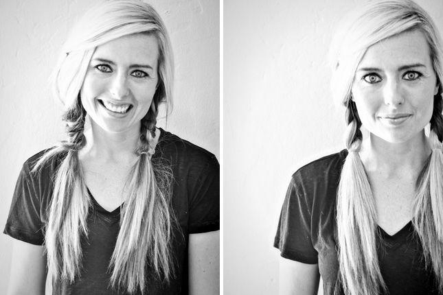 Hair for Yoga Shoot 10 Gym Hairdos That Go Far Beyond the Treadmill via Brit + Co.
