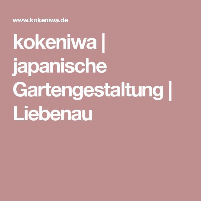 kokeniwa | japanische Gartengestaltung | Liebenau