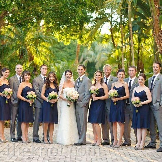 Wedding Party Color Ideas: What Color Should Groomsmen Wear
