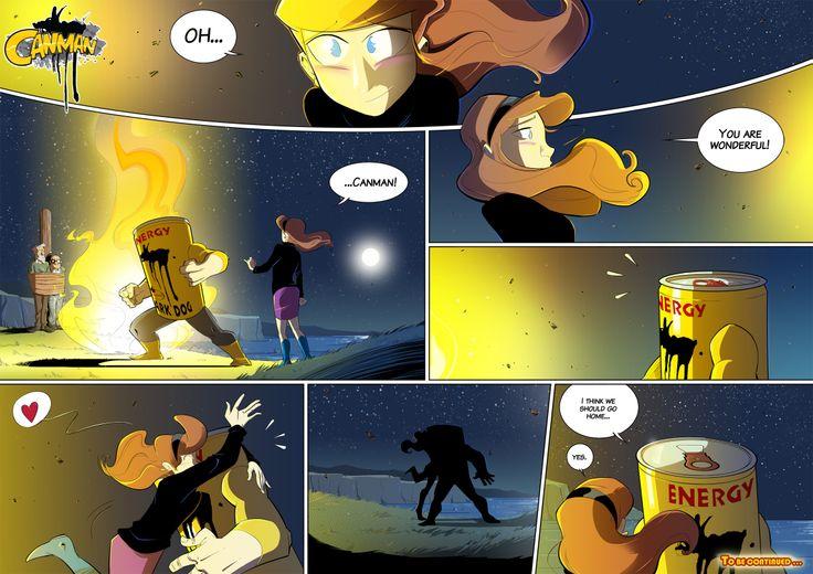 Season2 - Issue22 #canman #webcomic by #DARKDOG