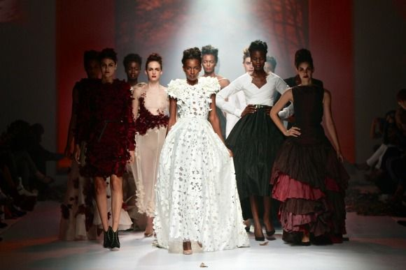 Avant Apparel collection at Mercedes-Benz Fashion Week Joburg 2014. Image by SDR Photo #MBFWJ