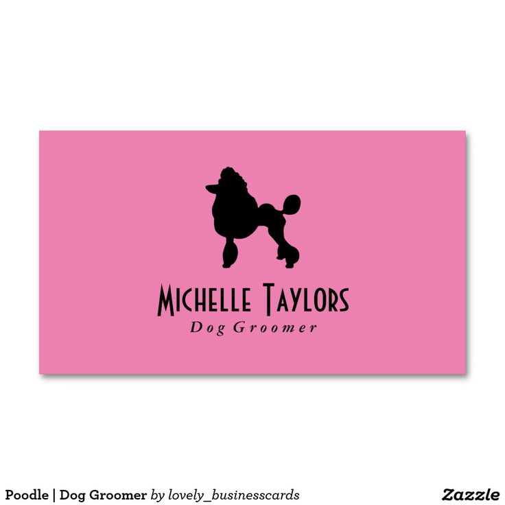 7 best images about Animal Business Cards on Pinterest | Poodles ...