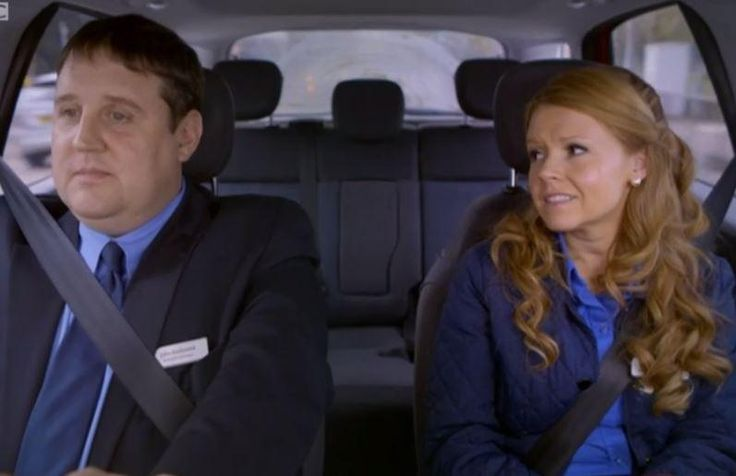 Peter Kay and Sian Gibson in Carshare
