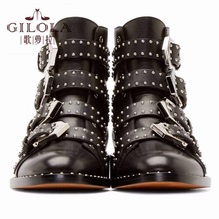 Купить товарНатуральная кожа сапоги новый лодыжки мотоцикла заклепки женщин сапоги мода обувь женщины осень зимняя обувь женщина # Y3208047F в категории Ботильонына AliExpress. Натуральная кожа сапоги новый лодыжки мотоцикла заклепки женщин сапоги мода обувь женщины осень зимняя обувь женщина # Y3208047F