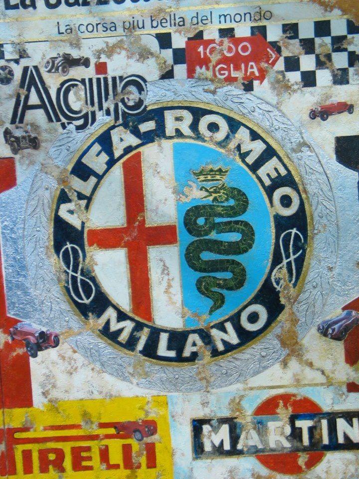 Alfa Romeo Logo / Badge / Emblem - AR Racing