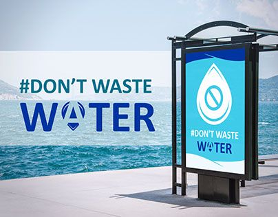 """Check out new work on my @Behance portfolio: """"Don't waste water"""" http://be.net/gallery/62079921/Dont-waste-water"""