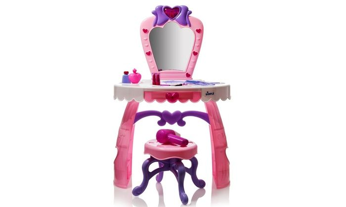 Dimple Dream Dresser Toy Vanity Set with Lights, Music, and Accessories (12-Piece) for $35 http://sylsdeals.com/dimple-dream-dresser-toy-vanity-set-lights-music-accessories-12-piece-35/