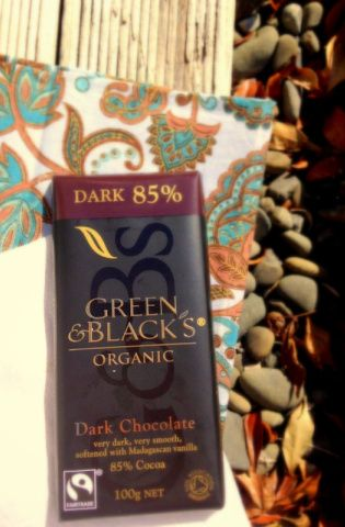I absolutely love Green&Blacks Organic 85% Dark Chocolate! Here's an awesome recipe that uses it in granola.