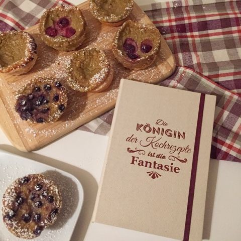 Pastéis de Nata mit Dinkel-Blätterteig - Kochwerkstatt mit Tante Fanny