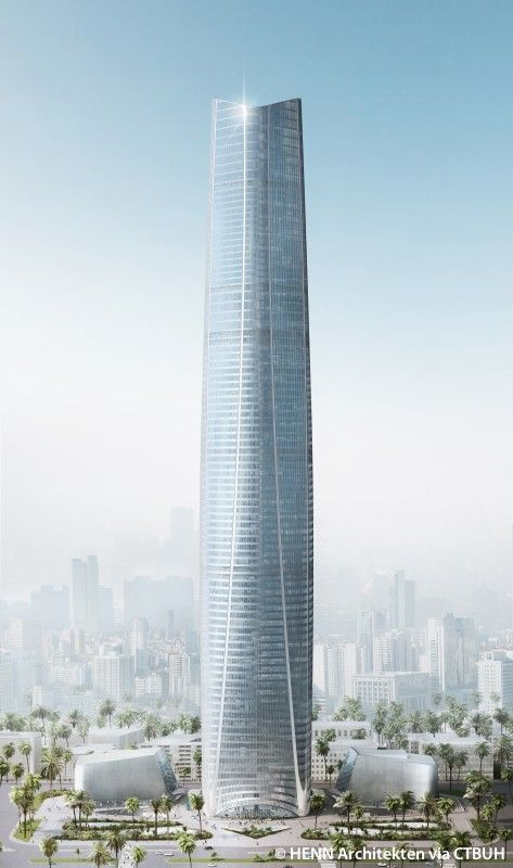 Haikou Tower, Haikou-China | 428 m / 1,404 ft |Under Construction, Completion 2020 | Arup