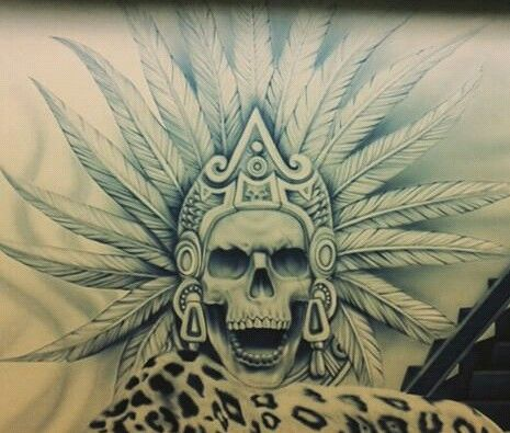 Aztec Arte   ChIcAno pRiDe   Pinterest   Aztec, Chicano ...