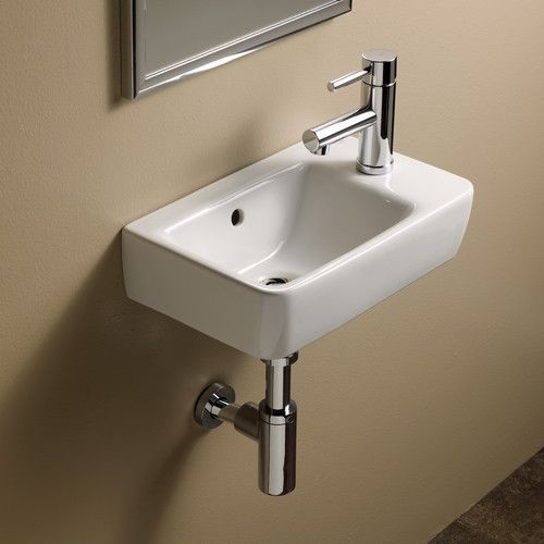 "Found it at Wayfair - Elements Comprimo 40-R Bathroom Sink 10.4""long"