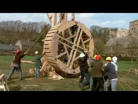 Die Turmkräne des Mittelalters