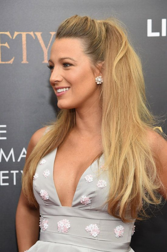 "Blake Lively at the premiere of ""Café Society"" at the Paris Theatre in New York City."