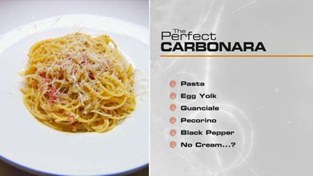 The Perfect… Carbonara